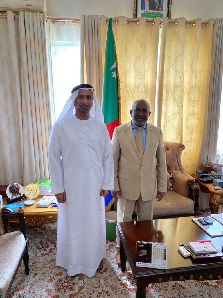 President of the Republic of the United Comoro Islands receives GCTP President